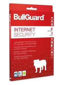 BullGuard Internet Security 2021 - 2 PC 1 Jahr Download / KEY / Windows MAC
