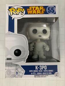 Funko POP! Star Wars K-3P0 #55 Exclusive Bobble Head Vinyl Figure Vaulted
