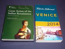 Teaching Co Great Courses DVDs      GREAT ARTISTS of ITALIAN RENAISSANCE + bonus