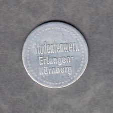 Erlangen -Studentenwerk- Flaschen Pfand, Marke aus Aluminium (Menzel 8619.2)