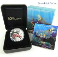2012 SEA LIFE II THE REEF OCTOPUS 1/2oz Silver Proof Coin