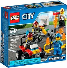 Lego City - 60088 Fire Starter Set/bomberos Starter Set-nuevo & OVP