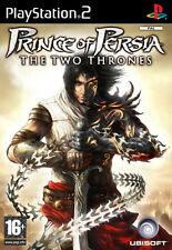 Ps2 Sony PlayStation 2 Game Prince of Persia The Two Thrones UK Boxed