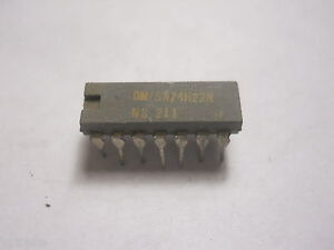 74H22 4 Input NAND Gate Integrated Circuit (NOS,New Old Stock)(QTY 34 ea)I211