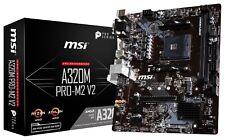 MSI A320M PRO-M2 V2 Socket AM4 AMD A320 SATAIII USB3.0 Micro-ATX Motherboard