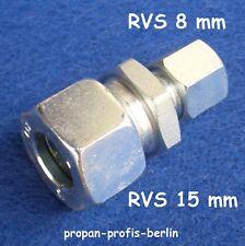 Ermeto Überwurfmutter 8 mm für Schneidringverschraubung Schneidringring