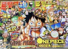 Weekly Shonen Jump2021 ONE PIECE ep.999 No.3-4 & ep.1000 No.5-6 with big poster