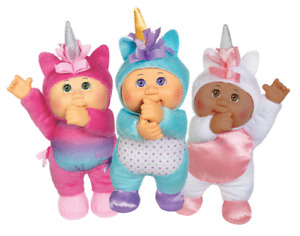 Cabbage Patch Dolls Kids Cuties 3pk Unicorn Brand New Collectibles 9 Inch