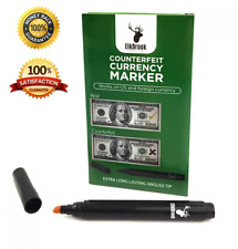 Counterfeit Currency Marker | Pen for U.S. 12-Count Bill Detector Fake Cash of