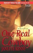 One Real Cowboy (Zebra Debut)-ExLibrary