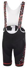 GHOST Factory Racing Bib Shorts black / red / white, Trägerhose, Radhose, Medium