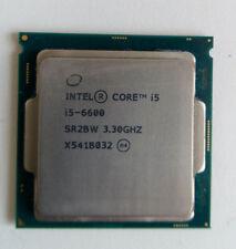 Intel Core i5 6600 CPU 3.3GHZ Quad Core Processor LGA1151 fino a 3.90GHZ