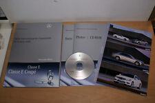 MERCEDES BENZ dossier de presse media press kit Genève Genf 2009 - E500 AMG E350