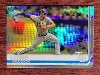 2019 Topps Chrome BRANDON LOWE Rookie Card Refractor Xfractor #151 RC Rays🔥
