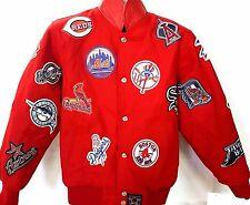 NEW! MLB Multilogos  Reversible Jacket Youth Jacket Size Youth M
