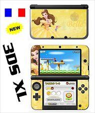 SKIN STICKER AUTOCOLLANT DECO POUR NINTENDO 3DS XL - 3DSXL REF 13 BELLE