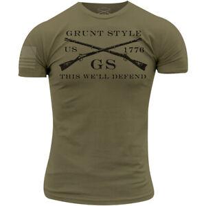 Grunt Style Logo Basic T-Shirt - Military Green