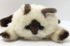 "American Girl Doll Marisol's Cream & Brown Himalayan Cat Rascal 6"""