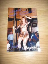 Vintage Adult Star Christy Canyon Sexy Signed 4x6 Photo/Free Shipping!