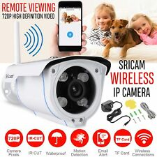 Sricam Wireless Wi-Fi 720P HD IP Network Camera Outdoor CCTV Security IR Night
