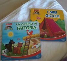 I miei giochi e un giorno  in fattoria Edicart accarezzano libri cartonati