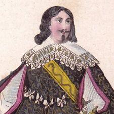 Charles de Rostaing Chevalier Ordre Saint-Esprit Louis XIII