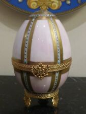 Faberge Limoges Imperial Danish Palace Egg