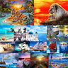 DIY Paint Natural Scenery By Number Kit Digital Oil Painting Artwork Wall Decor