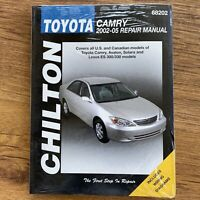 Toyota Camry (2002-2005) Chilton's Total Car Care Repair Manuals - New/Sealed