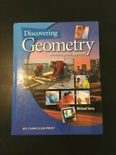 Discovering Geometry : An Investigative Approach by Michael Serra 2010