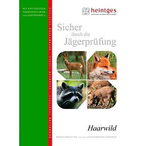 Heintges Sicher durch die Jägerprüfung – Haarwild Bücher NEU