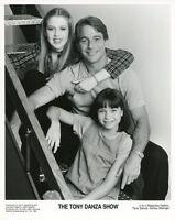 TONY DANZA MAJANDRA DELFINO ASHLEY MALINGER TONY DANZA SHOW 1997 NBC TV PHOTO