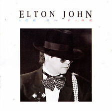 Ice on Fire by Elton John (CD, May-1992, MCA)