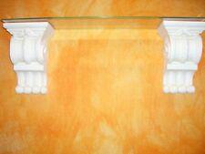 2 x XXL Griechische Antike Konsole Konsolen Wandkonsole Kaminkonsole Wandregal