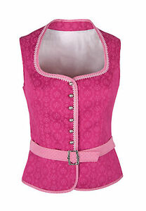 Ramona Lippert® Trachtenbluse Damen Mieder Bluse Corsage Nicole pink Gr. 34-46
