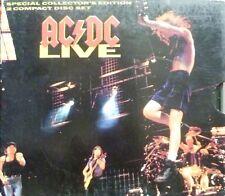 AC/DC + 1992 + LIVE + 2 CD + PAPPSCHUBER + 1. PRESSUNG +
