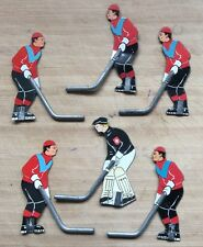 Early 50's Aristospel Tin Table Hockey Players-Team Swiss