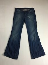 WRANGLER 'Bootcut Betty' Jeans - W30 L30 - Distressed Navy - Great Condition