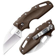 Cold Steel Dark Earth Tuff Lite Straight AUS 8A Folding Pocket Knife 20LTF