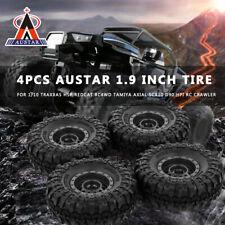 4Pcs AUSTAR AX-4020C 1.9Inch 110mm 1/10 Rock Car Tires + Beadlock Wheel Rim H0I9