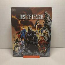 Justice League 4K Steelbook (4k/Blu-ray/2018, SteelBook)