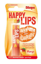 Blistex Happy Lips Lip Balm Stick Mango 3.7 G With Vitamin E BUY 1 GET 1 20% OFF