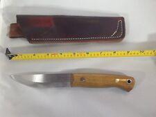 Wood Bear Knives/Nordic Bear II/01 steel/Osage Orange scales/Scandi Grind