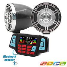 Utv Atv Wakeboard waterproof marine speakers Bluetooth audio Amplifier Speaker (Fits: More than one vehicle)