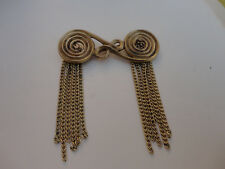 ancien bijoux broche bronze de Jeanne Peral n°1