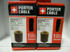 *LOT OF 2*PORTER CABLE ABRASIVE SLEEVE PXRASB60 COURSE