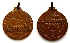 Medaglia Divisione Julia Adunata Udine 1962 – 8° E 9° Alpini 3° Art. Mont. III B