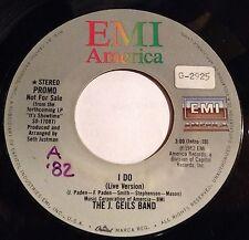 J Geils Band 45 I Do  PROMO