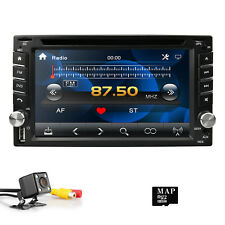 2-DIN Car Stereo DVD Player Receiver with 6.2