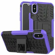 For Various Apple iPhone Heavy Duty Shockproof Bumper Hybrid Armor Stand Case